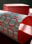 french savoy reversible luxury holiday designer gift wrap paper    $4.00
