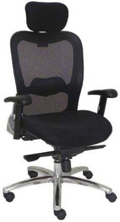 Cadeira Presidente com encosto de tela New Ergon