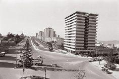 Plaza de América. Traviesas en los 60