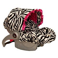 Zebra print carseat cover!  Better than spending over 300 for a zebra print carseat!