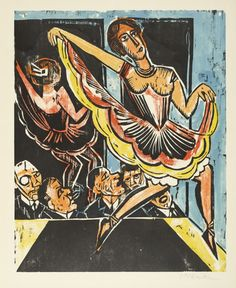 The Museum of Modern Art (MoMA) is a place that fuels creativity and provides inspiration. Its extraordinary art collection includes modern and contemporary art such as Dancer in the Mirror (Tänzerin im Spiegel) (Max Pechstein). Max Beckmann, Carl Friedrich, Illustrator, Ernst Ludwig Kirchner, Dance Paintings, Expressionist Artists, Dance Art, Museum Of Modern Art, Dresden