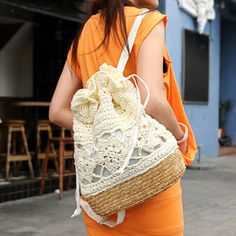 Buy 'SO Central – Woven Drawcord Backpack' at YesStyle.com plus more Hong Kong items and get Free International Shipping on qualifying orders.