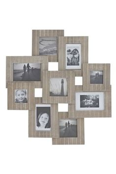 Buy 9 Aperture Slatted Wood Collage from the Next UK online shop