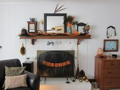 QuirkyKim's Quips: All That's MY Halloween.  Great Halloween Decor Ideas!