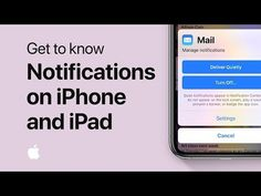 How to use notifications on your iPhone, iPad, or iPod touch — Apple Support Apple Support, Getting To Know, Ipod Touch, Science And Technology, Romans, Being Used, Ipad, Make It Yourself, Iphone