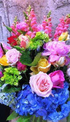 Amazing blooms for a stunning vase arrangement