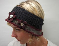 Upcycled Felted Wool Ear Warmers- Inspiration