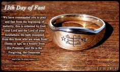 13th Day of Fast #bahai #9starjewelry