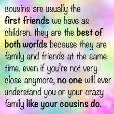 Cousins <3