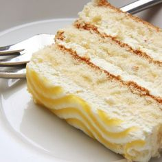 Lemon Drizzle Icing, Lemon Chiffon Cake, Mousse, Store Bought Frosting, Layer Cake Recipes, Sweet Pastries, Food Cakes, Cake Batter, Cream Cake
