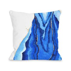 Shop AllModern for One Bella Casa Bold Formations Fleece Throw Pillow - Great Deals on all  products with the best selection to choose from!