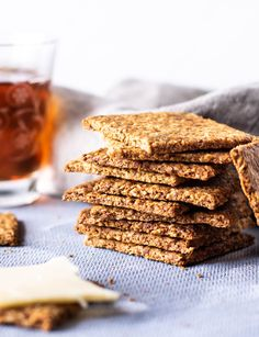 Rye Bread Recipes, Post Workout Snacks, Low Fodmap, Bread Baking, Cake Cookies, Crackers, Brunch, Paleo, Food And Drink
