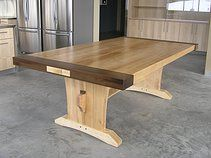 This Is A Beautiful Dining Room Table Built For A Fire Station For Their  Fire Fighters