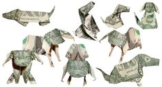 So I can take up a new hobby... like Money origami...
