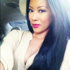 Denyce Lawton: HER MAKE-UP IS PRETTY. BUT  I LOVE HER LIP COLOR