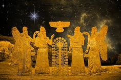 Those who from Heaven to Earth came Annunaki As Above so Below