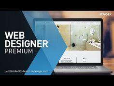 MAGIX Web Designer Premium (DE) - Alles zum Erstellen Ihrer professionellen Webseite - YouTube