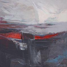 'Moonshine' 40 x 40 cm Oil on canvas Kathy Ramsay Carr
