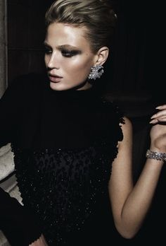 Michelle Buswell | Harper's Bazaar UK December 2008