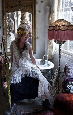 All Things Bohemian Gypsy Chic Style On Pinterest 392