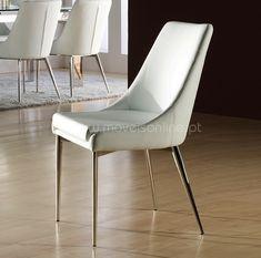 Cadeira de mesa de refeições estofada Marcelle de 2020