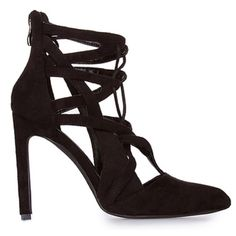 Boutique | Lace Up Heels