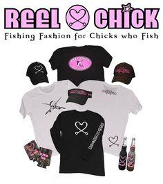 Reel Chick Fishing Apparel - Heart Hook