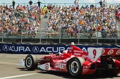 Indy Car #9 -Target rounds Acura Turn 10, via Flickr.
