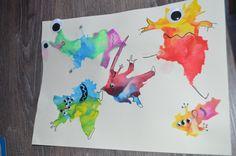 L'art est un jeu d'enfant #13 : même pas peur des monstres ! – mon bazar coloré