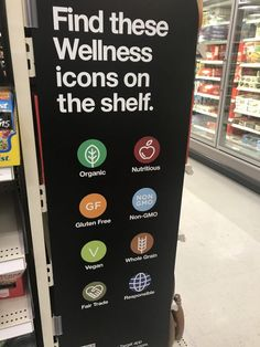 New Wellness Icons in the Target Grocery Aisles Target Clearance, You Cheated, Shopping Hacks, Self Improvement, No Response, Icons, Wellness, Life Hacks Shopping