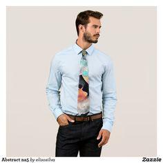 Abstract na5 corbatas personalizadas