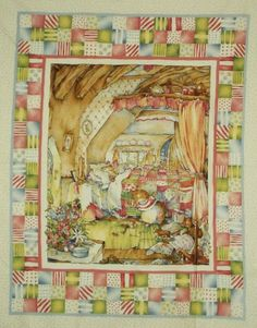 """Vintage Little Mouse Playing At Home 100% Cotton Fabric Panel (makes a cute baby blanket) Approx. Picture Size: 27"""" x 35"""". Bram,http://www.amazon.com/dp/B00KEBMP5I/ref=cm_sw_r_pi_dp_zg9Dtb07PD94FTY8"""