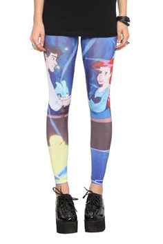 aa5c0118e60357 Amazon.com: Disney The Little Mermaid Ariel And Eric Leggings Pre-Order:  Clothing. Find this Pin and more on ...