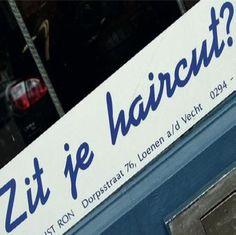Kapperszaak Zit je haircut?