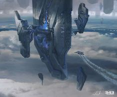 Halo 4 Art & Pictures,  Forerunner Spire Concept