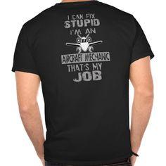 Aircraft Mechanic T Shirt, Hoodie Sweatshirt