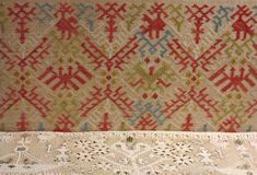 Folk Embroidery, Embroidery Stitches, Benaki Museum, Some Image, Islamic Art, Athens, Textiles, Quilts, Blanket