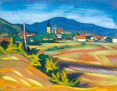 Nagybánya látképe, 1939: 20. aukció (2005. ősz) 57.tétel City Art, Art Ideas, Texture, Painting, Surface Finish, Painting Art, Paintings, Painted Canvas, Drawings