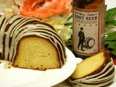 Not Your Father's Root Beer Cake Recipe: This root beer cake is made with real beer. It is rich and moist without any alcoholic beer flavor. Surprise your guests with this one at your next party.