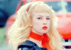 Traci Lords as Wanda Woodward in cry baby 1990
