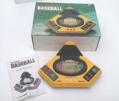 VINTAGE!! 1988 Talking Play by Play Baseball Handheld Electronic Game by VTech by Barostores on Etsy