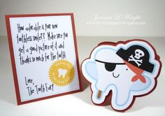 So cute. Check out the different notes from the tooth fairy at Lettering Delights - Tooth Fairy Shaped Card  $2-$5