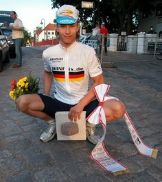 Linus Gerdemann, Tour de Berlin 2004. Foto: Adriano Coco