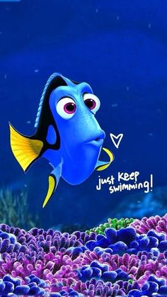 Just keep swimming! #strong #faith