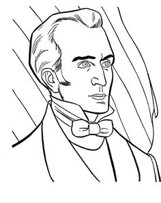 james k polk 11th president coloring pages president day cartoon coloring pages