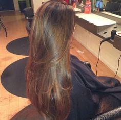 pretty hair color - I wish my hair looked like this Pιnтereѕт - ♡ Long Brown Hair, Long Hair Cuts, Dark Hair, Long Hair Styles, Shiny Hair, Brown Blonde, Beautiful Long Hair, Gorgeous Hair, Pretty Hairstyles