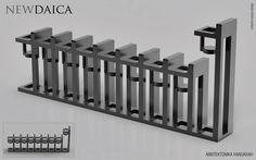 NEWDAICA PROJECT - ARKITEKTONIKA HANUKKAH - available for sale https://www.shapeways.com/model/2935170/arkitektonika-hanukkah.html?li=shop-results&materialId=89