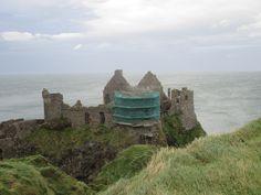 Dunluce Castle, North Coast, Northern Ireland September 2016