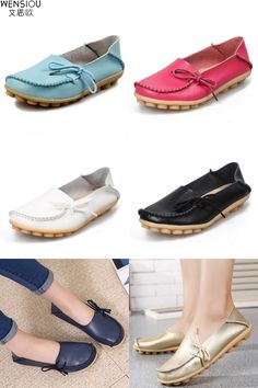 [Visit to Buy] 2016 Hot sale women flats  new  ladies shoes fashion solid soft loafers summer  women casual flat shoes ST17 #Advertisement