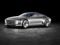 Mercedes Company made something unbelievable for the 2015 Frankfurt auto show. It is a new futuristic concept car Mercedes Benz Concept IAA. Mercedes G Wagon, Mercedes Maybach, Mercedes Benz Cars, Aston Martin Db10, Mercedes Electric, Electric Cars, Porsche Electric, Gq, Limousine